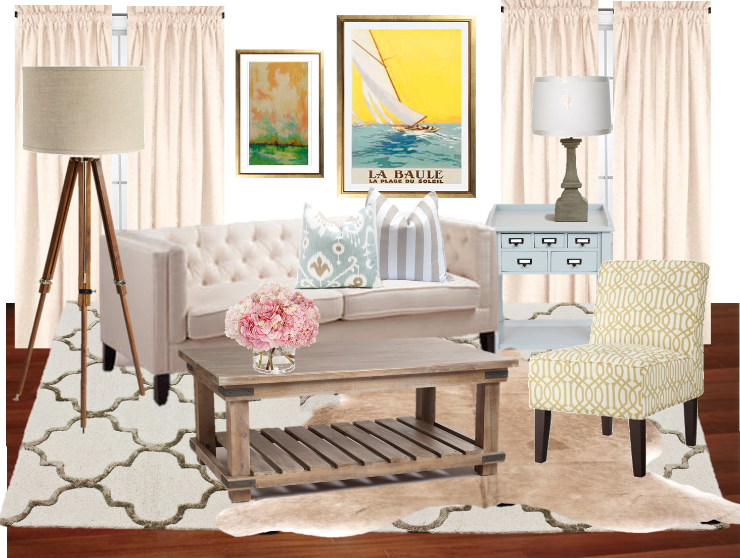 Living Room Re Design Simply Styled