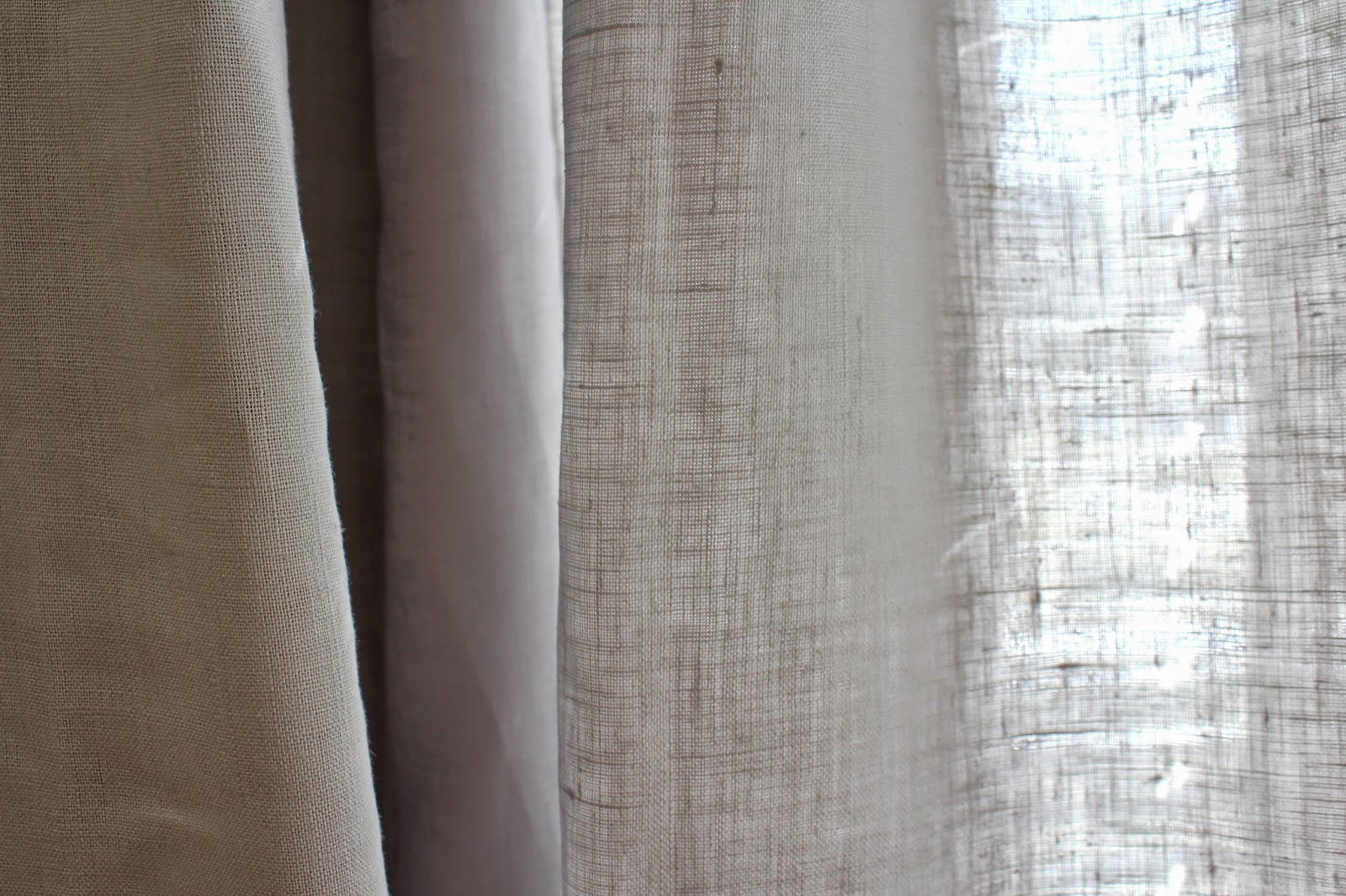 Linen Curtains Simply Styled