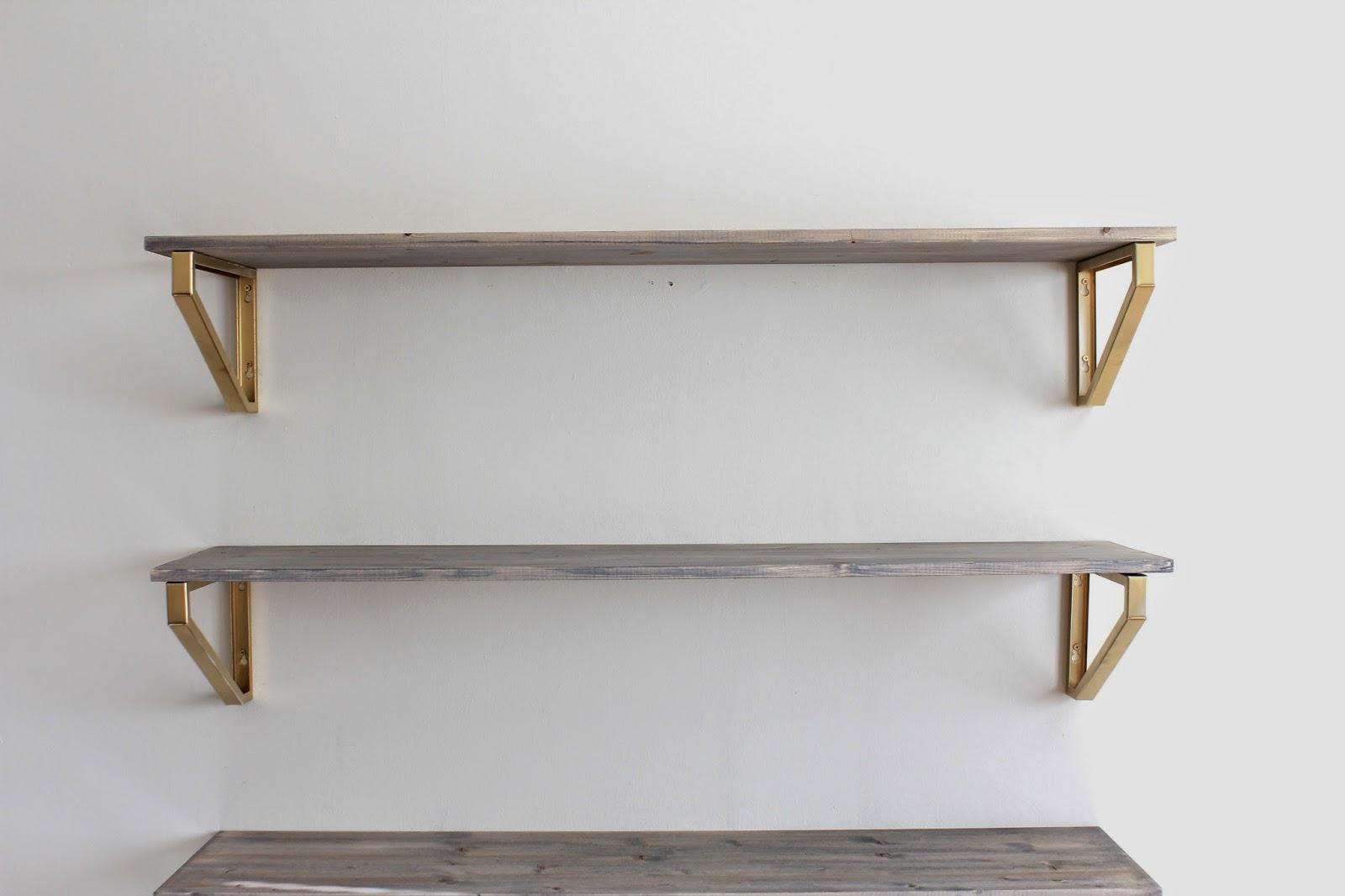 Rustic Wood Shelf DIY