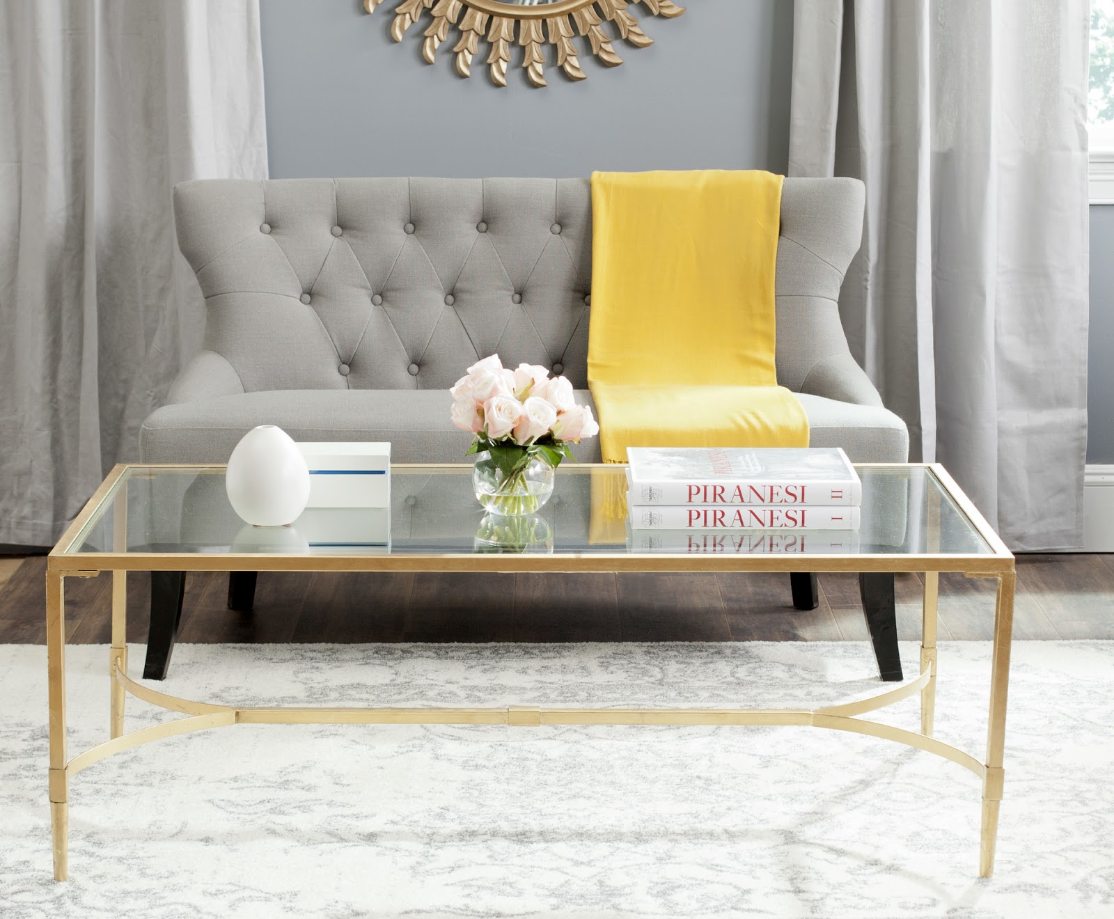 Chicago Apartment: Coffee Tables | Simply Styled
